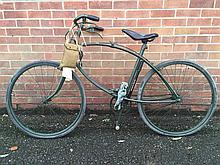 Cycling/Militaria: BSA green Airborne folding bike