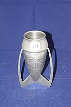 Archibald Knox: Liberty and Co. Tudric pewter vase