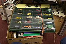 Toys: Diecast Corgi Parker & Son delivery vehicle