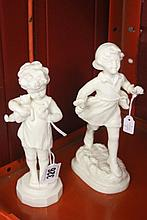 20th cent. Worcester unmarked and undecorated blan