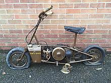Motorbikes/Militaria: Welbike Engine no. XXE 1496