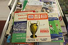 Football programmes: 1954 Preston V West Brom 195