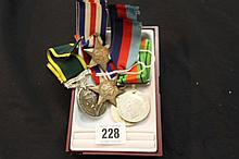 Medals: WWII 1939 and France Germany Stars, 1939