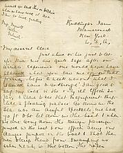 R.M.S. TITANIC: Unique letter from Second Class