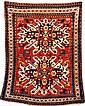 Chelaberd Eagle-Kazak antique, Caucasus, 19th ct.,