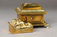 Inkstand, France, in 1870,