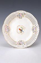 Magnificient plate, Meissen, around 1880