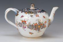 Teapot, Meissen, 1774-1814, Marcolini
