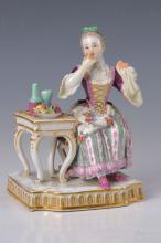 Porcelain figurine, Meissen, 1880
