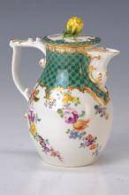 Teapot, Meissen, 1730-40