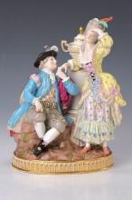 Porcelain figurine, Meissen, ca. 1880