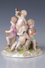 Porcelain group Meissen, around 1763-1774