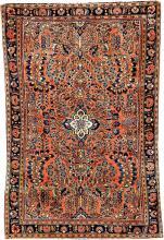 us sarough, ## west persia, circa 1900, wool/cotton,