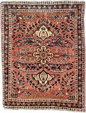 us sarough, ## west persia, circa 1920/1930,wool/cotton,