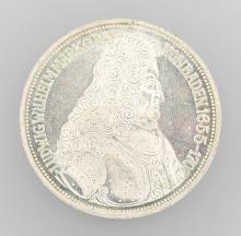 Silver coin, 5 DM, Germany, 1955