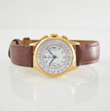 LONGINES 18k pink gold 13 ZN chronograph