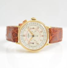 TISSOT 18k yellow gold gents wristwatch with chronograph