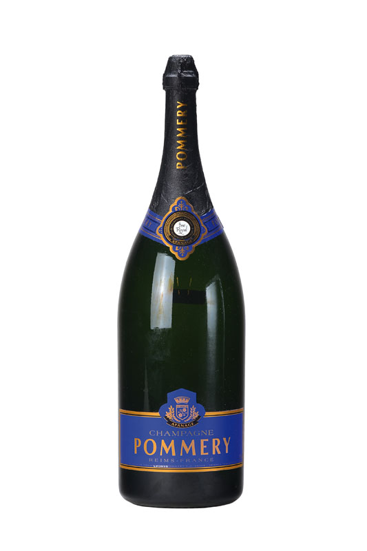 1 imperial bottle of pommery champagne brut royal reims. Black Bedroom Furniture Sets. Home Design Ideas