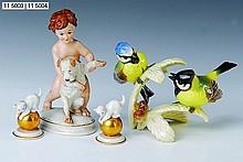 Three porcelain figures, Rosenthal, 1 x