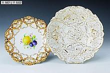 Ornamental bowl, Meissen, 20th century, rich in