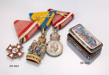 Lot 3 medals from Austria 1880/1918