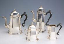 4-piece silver coffee set, Italy