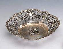 Silver bowl, Germany approx. 1910