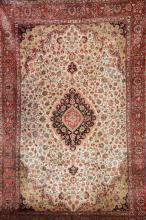 Silk Qum, Persia, circa 30 years old, pure silk, approx