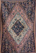 Senneh 'Kilim', Persia, circa 1930, wool/cotton, approx