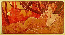Mucha, Alphonse, 1860 Ivancice-1939 in Prague,