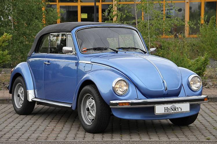 1977 Vw Beetle 1303 Ls Cabriolet
