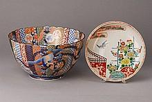Bowl, Japan, 1900, porcelain, colorful paintedwith