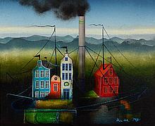 Wojtek Kulesza, born 1952 Malbrok, oil on canvas