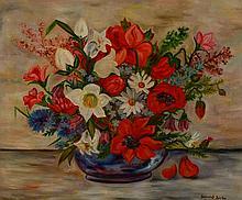 Heinrich Borbo, Baden-Baden, still life, oil on canvas