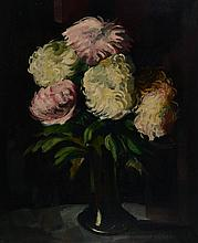 Unknown contemporary artist, still life, oil on canvas