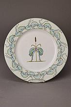 Tomi Ungerer, born in 1931 Strasbourg, decorative plate