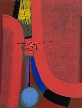 Max Ackermann, 1887-1975, three color screen prints