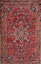 Sarogh, Persien, um 1920, Wolle auf Baumwolle, ca.