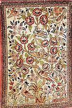 Seiden Ghom, Persien, ca. 30 Jahre, Naturseide,