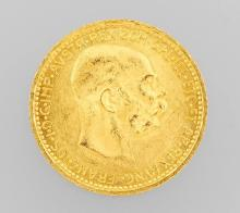 Gold coin, 10 kroner, Austria-Hungary 1912