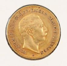 Gold coin, 10 Mark, Germany, 1904