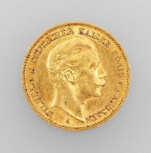 Gold coin, 20 Mark, Germany 1899