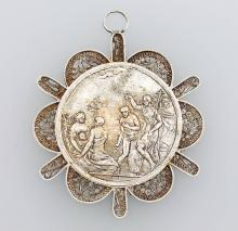 Baptism medal, Germany approx. 1820s