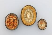 Lot 3 votive offerings, Germany 18th/ 19th century
