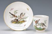 cup with saucer, KPM Berlin, around 1780/90