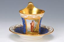 cup with saucer, KPM Berlin, around 1780-1800