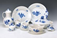 coffee- and Dinner set, Royal Copenhagen, 20thc.