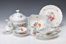 coffee- and Dinner set, Hutschenreuther, 2.h.20.th c.