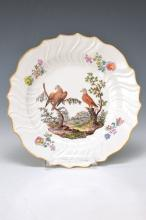 plate, Meissen, around 1740, Neuozier- embossement