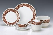 Dinner set, Rosenthal, Studio-line, 2. H. 20thc.